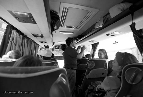 In autocar