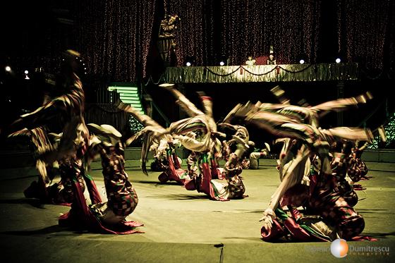 Clovnii invadeaza arena circului