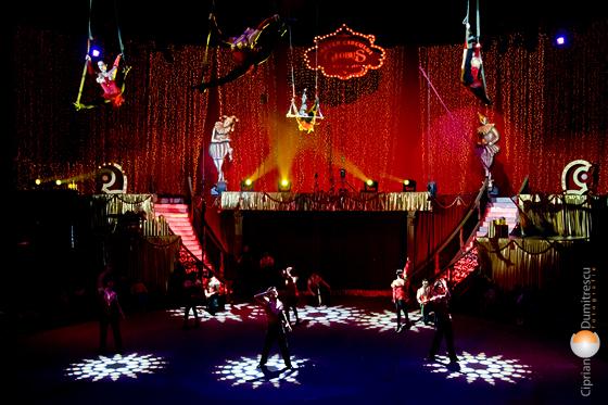 Magia circului Bucuresti