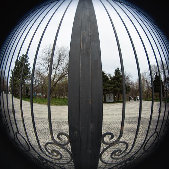 La poarta parcului IOR