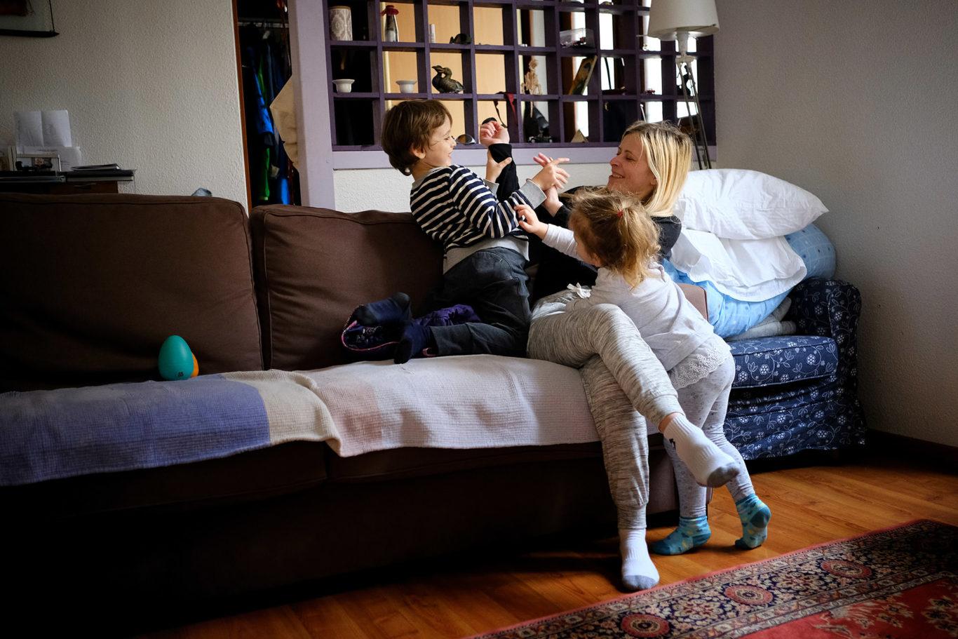 Fotografii de familie - vacanta in Franta