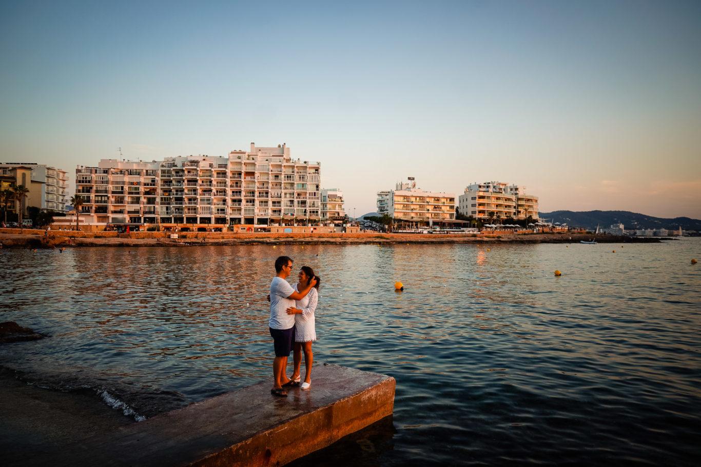 Fotografie logodna Ibiza - Lore & Sergio - fotograf Ibiza Ciprian Dumitrescu