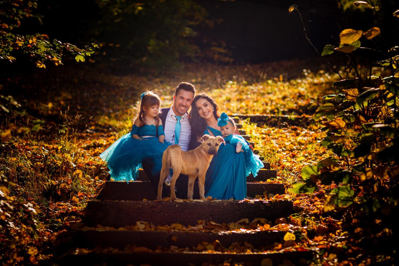 Sesiune foto familie in culori de toamna - Alice family - fotograf familie - Ciprian Dumitrescu - fotograf Bucuresti - fotograf profesionist