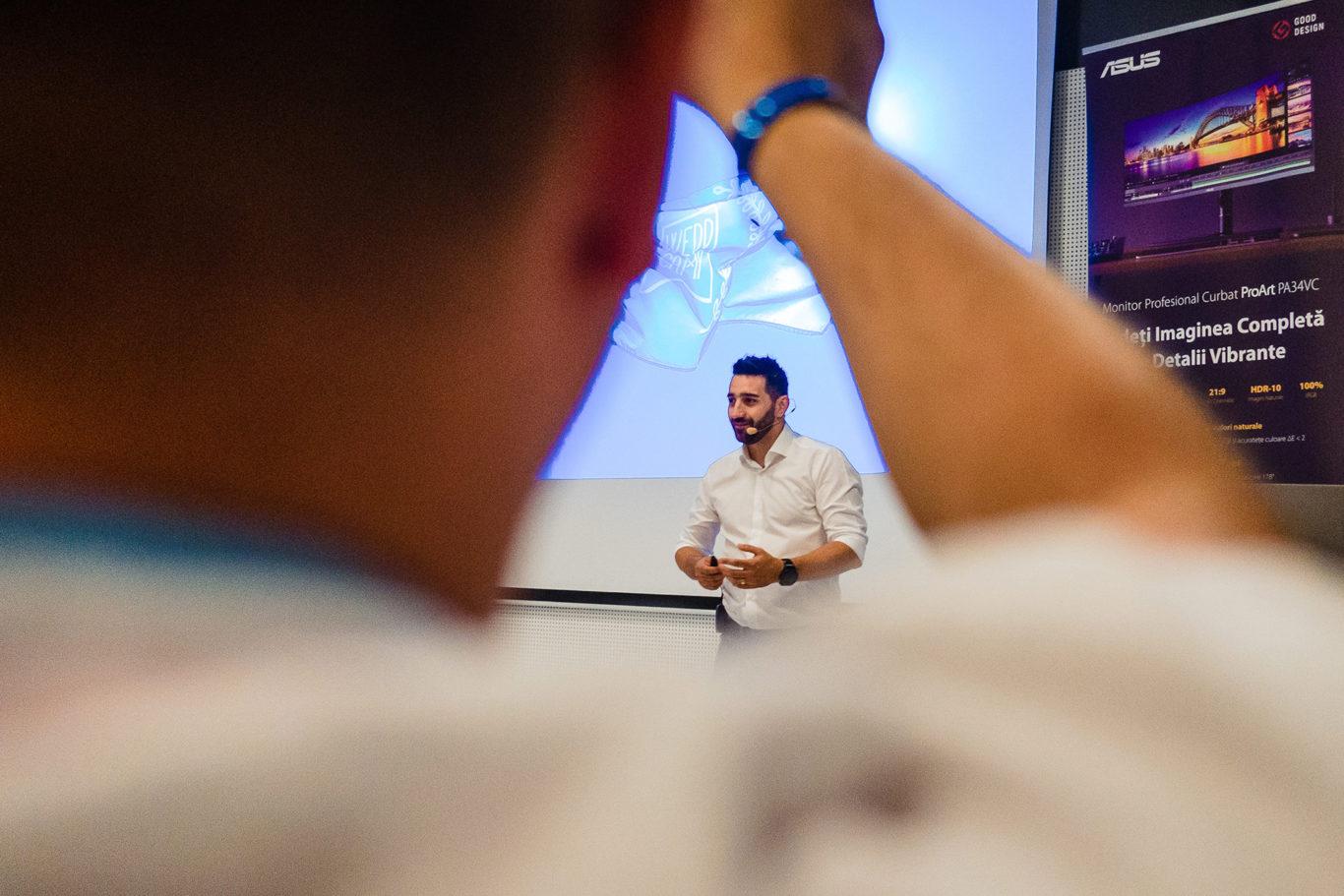 Daniel Dumbrava - prezentare Weddcamp
