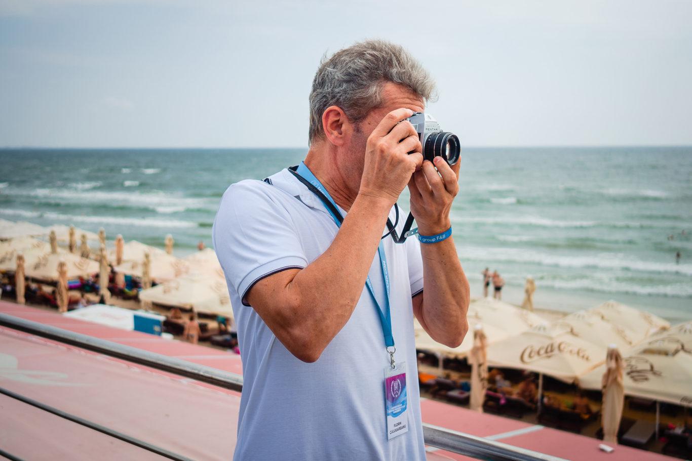 Fotograf pe film la Weddcamp