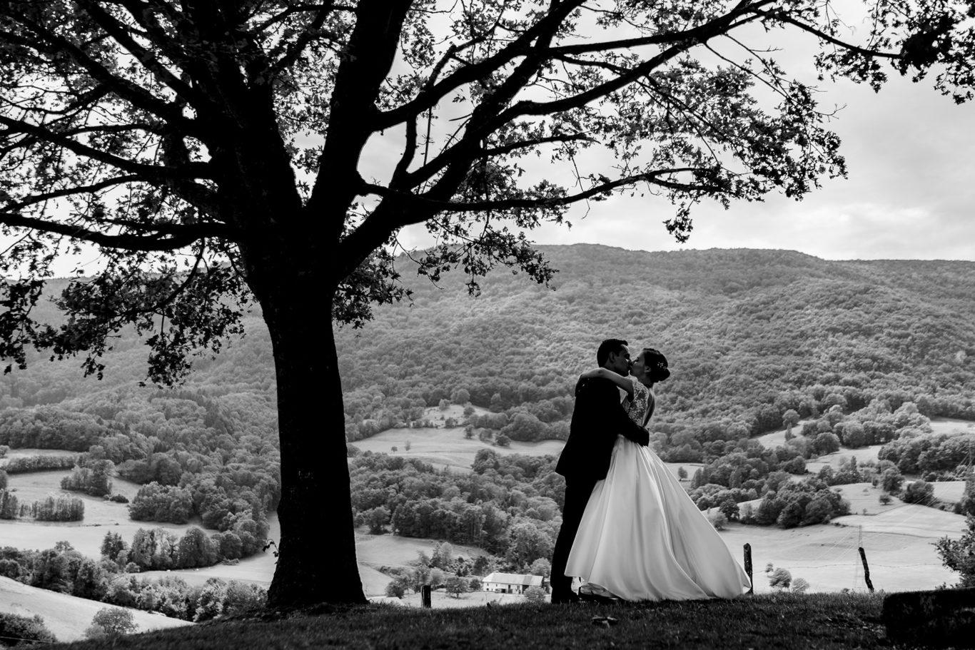 Sarut la nunta in Alpii Francezi