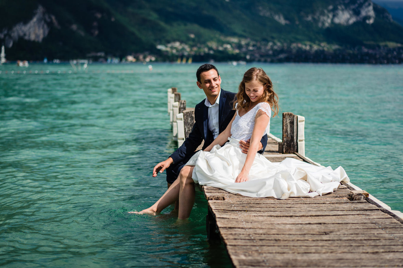 Love the Dress - Annecy Lake - Mihaela & Guillame