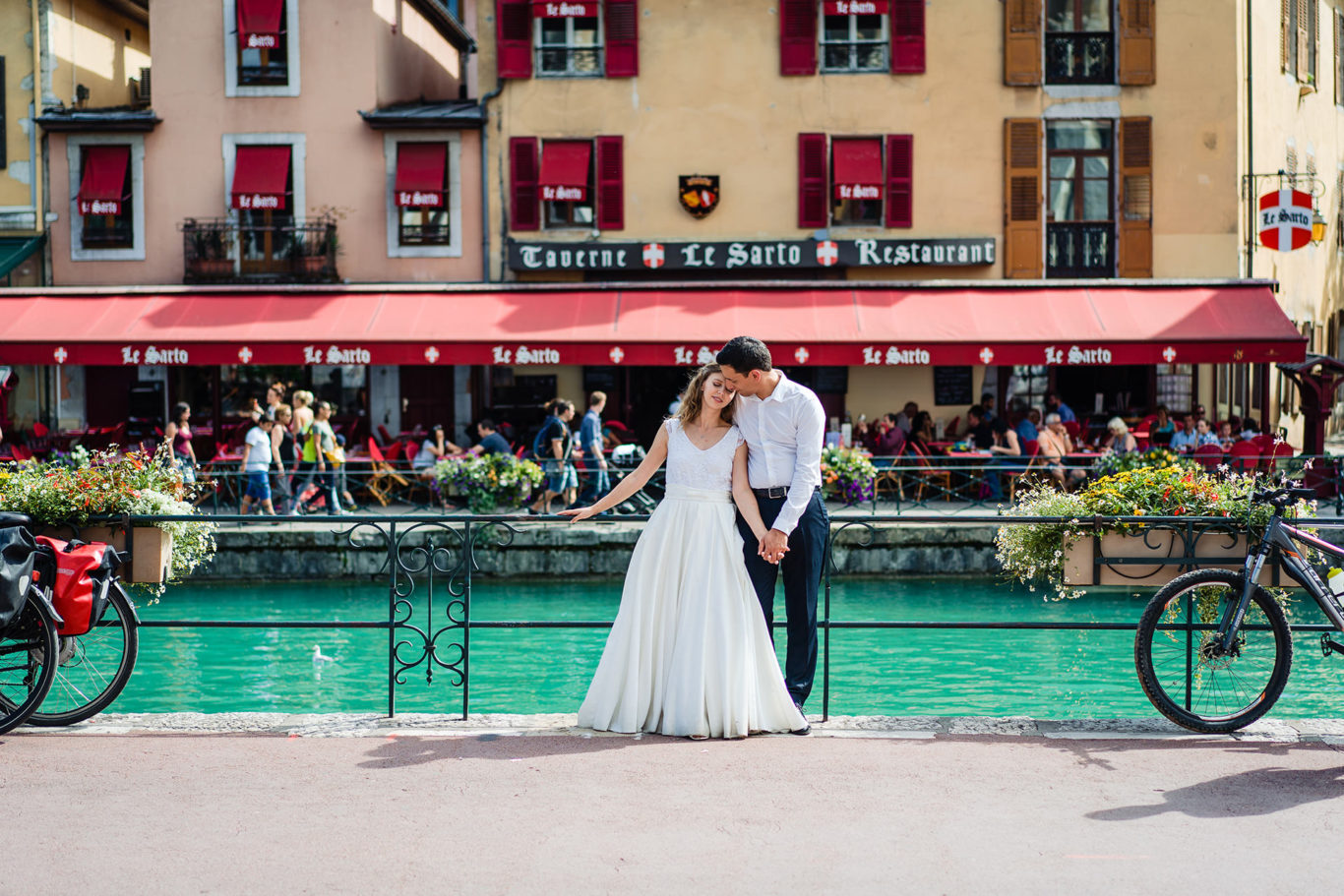 Love the Dress - Annecy Town - Mihaela & Guillame